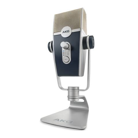 AKG Lyra C44-USB Ultra-HD Multimode USB Microphone