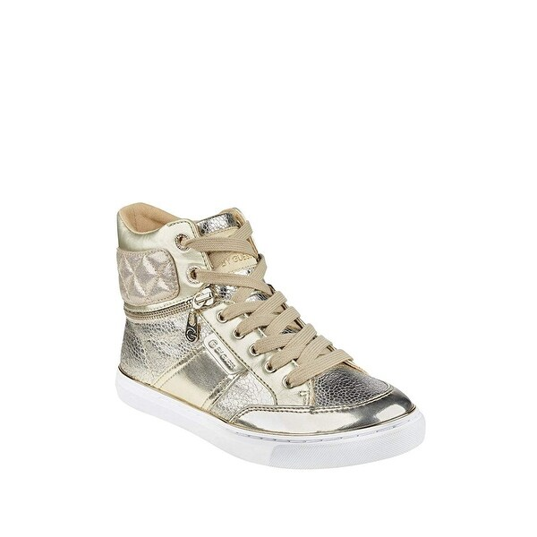 99bb85632bf5 Shop G by Guess Womens Ombae Hight Top Lace Up Fashion Sneakers ...