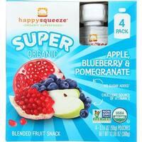Happy Family - Organic Apple Blueberry Pomegranate Fruit Snack ( 16 - 3.17 Z)
