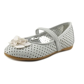 Nina Betsey T Toddler Round Toe Synthetic Ballet Flats