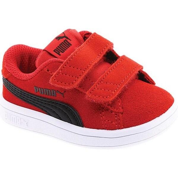 d534f78c8b8 Shop PUMA Children s Smash V2 Suede V PS Sneaker Ribbon Red PUMA ...