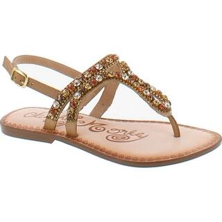b3bd16424fa Naughty Monkey Womens Monaco Flat Sandals Leather Embellished · Quick View