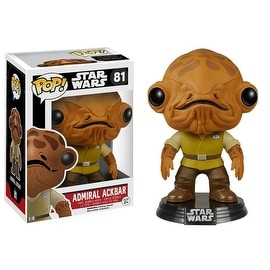 Funko POP Star Wars The Force Awakens Admiral Ackbar Vinyl Figure