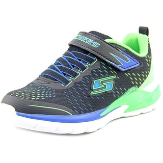 S Lights By Skechers Erupters-Lav Arc Round Toe Canvas Sneakers