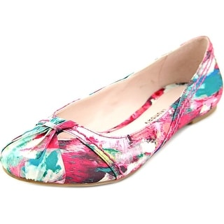 Chinese Laundry Dramatic Women Round Toe Canvas Multi Color Ballet Flats