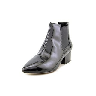 French Connection Ronan Pointed Toe Patent Leather Bootie