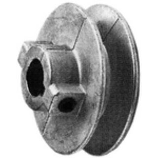 """Chicago 300A5 Single V Grooved Pulley, 3"""" x 12"""""""