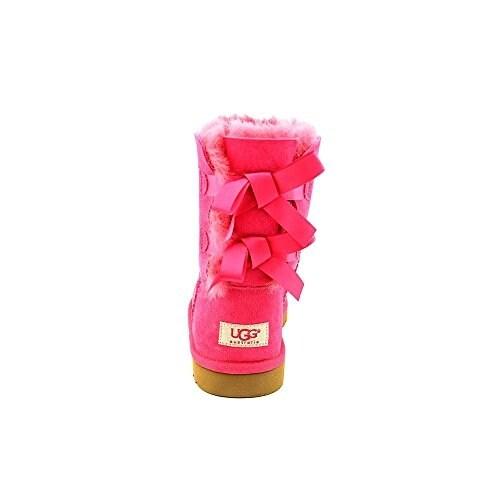 82609e6b2ba UGG Girls Bailey Bow Boot (Toddler/Little Kid/Big Kid), Cerise, 1 Little Kid