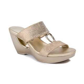 Andrew Geller Aylee Women's Sandals & Flip Flops Gold