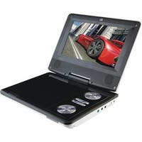 "GPX PD701W Portable DVD Player With 7"" LCD Display"