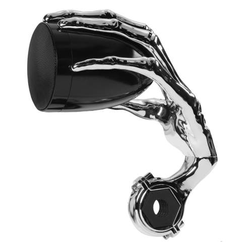 "Boss Audio 3"" PHANTOM Speakers w/Built-In Amplifier - Black/Chrome - Pair"