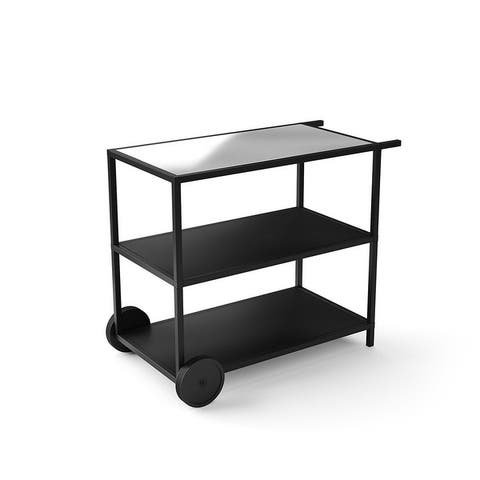 Outdoor Kitchen Series Bar Cart - Stainless Steel