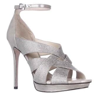 Vince Camuto Grimes Ankle-Strap Dress Sandals, Earl Grey - 9.5 us