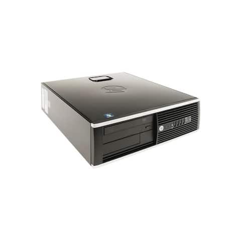 """HP Compaq 8300 Elite SFF Refurbished PC Intel Core i5 3470 3rd Gen 3.2 GHz 8GB DIMM DDR3 SATA 3.5"""" 250GB DVD-ROM Windows 10 Pro"""