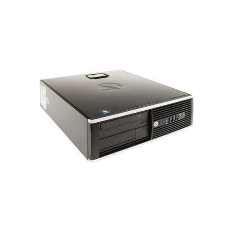 HP Compaq 8300 Elite SFF Refurbished PC - Intel Core i5 3470 3rd Gen 3.2 GHz 4GB 500GB DVD-RW Windows 10 Pro 64-Bit - Grade B