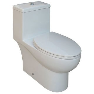 Rohl FE2260 1.28 GPF One-Piece Elongated Toilet