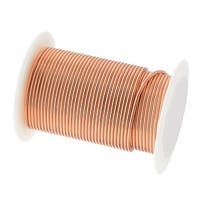 Beadsmith Tarnish Resistant Bright Copper Wire Heavy 16 Gauge 8 Yards (7.3 Meters)