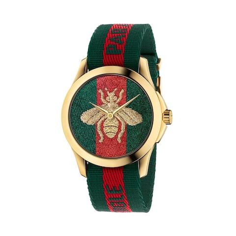 Le Marche VC Des Merveilles Bee Watch w/ Nylon Web Strap - N/A