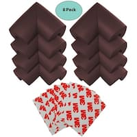 EliteBaby Baby Proofing Bumper Guard 3M Corner Protectors, 8 Pack Extra-Dense Cushioned Baby Safe Corner Guards Edge Protectors