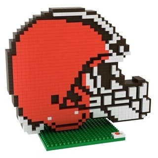Cleveland Browns 3D NFL BRXLZ Bricks Puzzle Team Logo