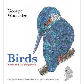 St. Martin's Books-Birds: A Mindful Coloring Book