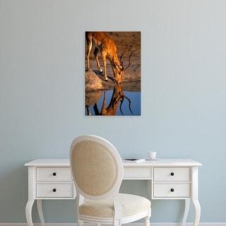 Easy Art Prints Paul Souders's 'Chobe National Park Bull Impala' Premium Canvas Art