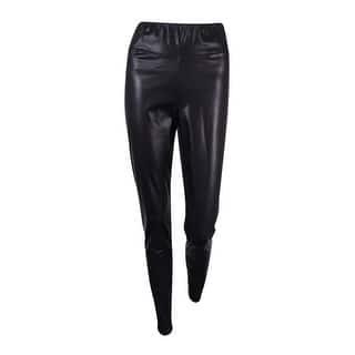 Lauren Ralph Lauren Women's Faux Leather Leggings - Black|https://ak1.ostkcdn.com/images/products/is/images/direct/f13f307f2e7e42f10ba35d5fcc07703e3f3ed799/Lauren-Ralph-Lauren-Women%27s-Faux-Leather-Leggings.jpg?impolicy=medium