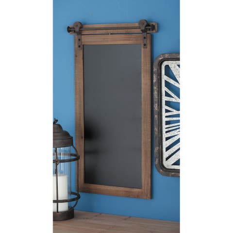 The Gray Barn Hogback Wood Metal Chalkboard