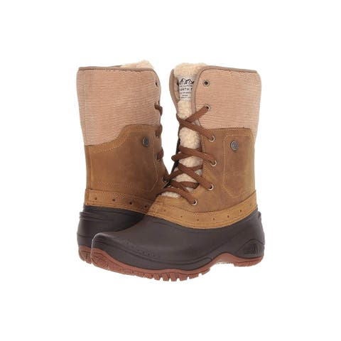 The North Face Womens Shellista Closed Toe Mid-Calf Cold Weather Boots - 5