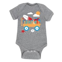 Beach Wagon - Infant One Piece