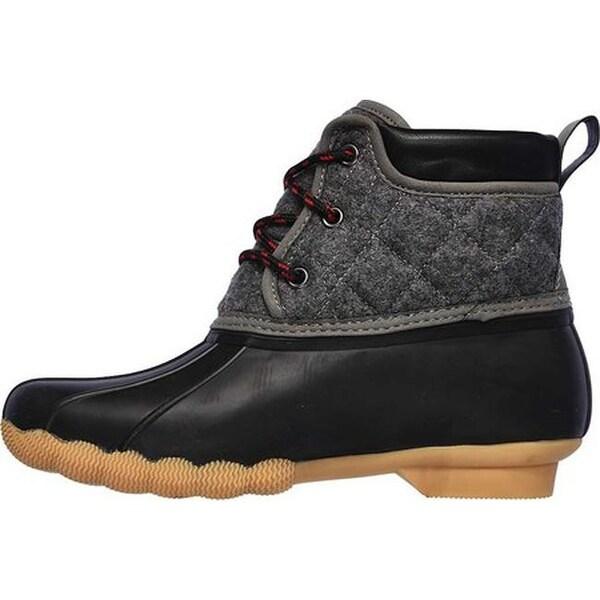 Shop Skechers Women's Pond Lil Puddles Duck Boot Black
