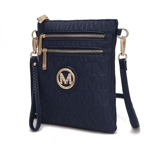 MKF Collection Andrea M Signature Crossbody Bag by Mia K.