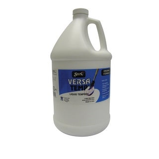 Sax Versatemp Heavy-Bodied Tempera Paint, White, 1 Gallon