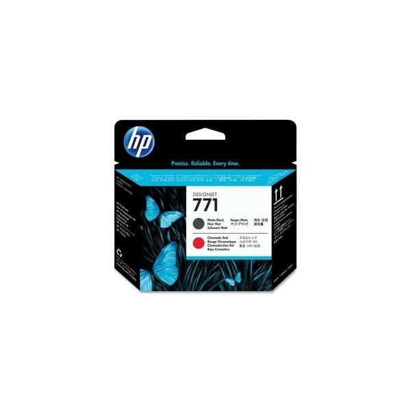 HP 771 Original Printhead Matte Black & Chromatic Red (CE017A)(Single Pack)