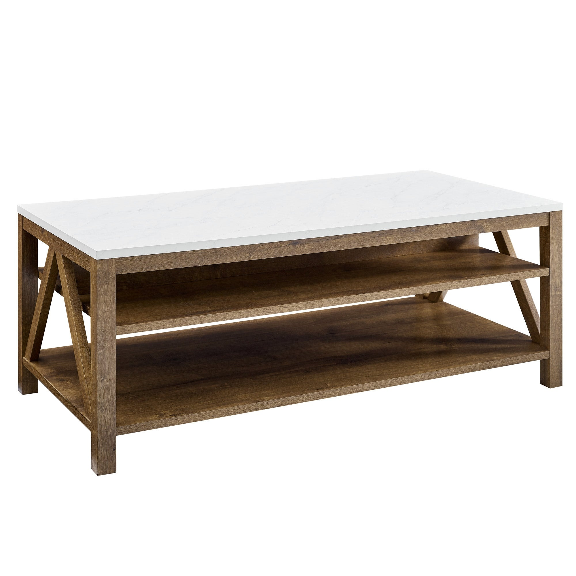 The Gray Barn Paradise Hill A Frame Coffee Table Overstock 31640798