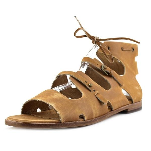 Corso Como Tiki Women Open Toe Leather Gladiator Sandal