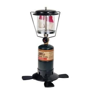 Texsport 14202 Double Mantle Propane Lantern, Black, Metal