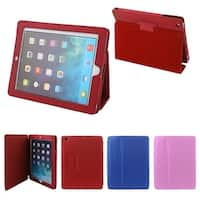 3 Pcs PU Leather Carbon Fiber Pattern Magnetic Case Cover Stand for iPad 2 3 4