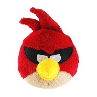 "Angry Birds Space 5"" Plush With Sound: Super Red Bird - multi"