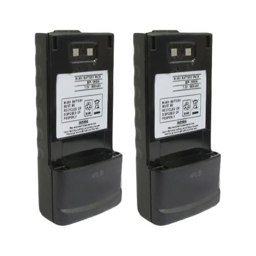 Replacement Battery for Icom BP186 (2-Pack) Replacement Battery
