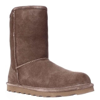 Bearpaw Elle Short Cold Weather Boots, Hickory