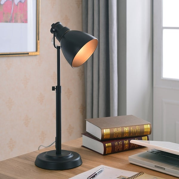 Idol Blackened Oil Rubbed Bronze Height Adjustable Desk Lamp. Opens flyout.