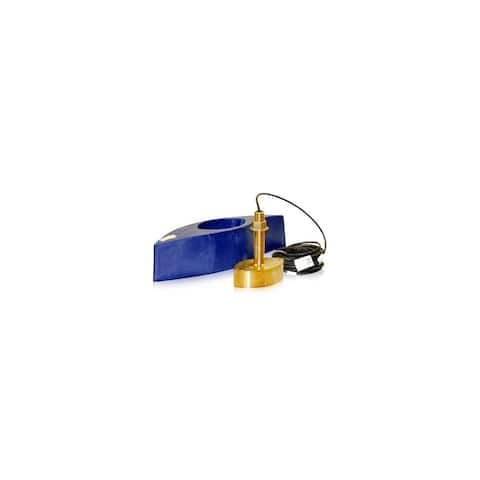 Furuno 526TID-HDD Bronze Broadband Thru-Hull Transducer with Built-in Diplexer - Blue