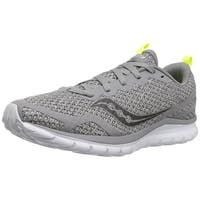 Saucony Mens LITEFORM FEEL Low Top Lace Up Fashion Sneakers