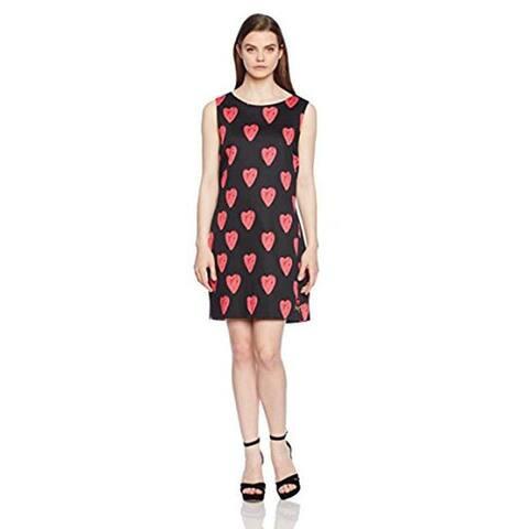 Desigual Cristina A-line Sleeveless Dress, Black, 38