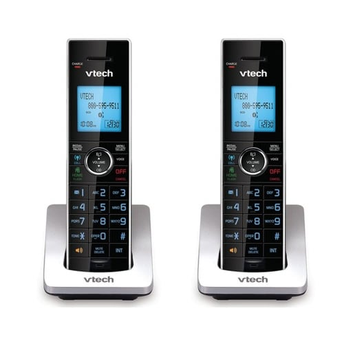 VTech DS6072 (2-Pack) Additional Handset / Charger with Intelligent Eco-Mode