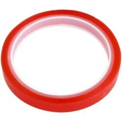 Red - Dovecraft Permafix Double-Sided Tape 12Mmx5m