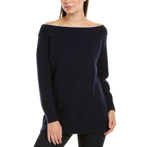 Lela Rose Wool & Cashmere-Blend Sweater