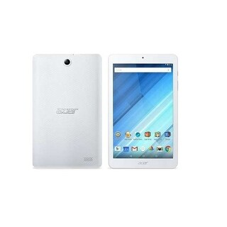 """Acer B1-850-K42f Mtk Mt8163 (1.30 Ghz) 1 Gb Memory 16 Gb Flash Storage 8.0"""" Tablet Pc Android 5.0 (Lollipop) White"""