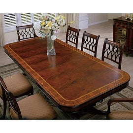 Regency Rectangle Dining Table - Brown